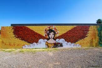 Phoenix Streetart