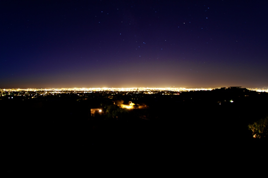Tucson @ night