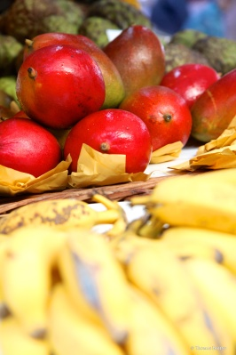 Fresh fruits @ the market in Funchal