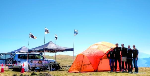 Checkpoint am ersten hohen Pass auf 2785 Metern