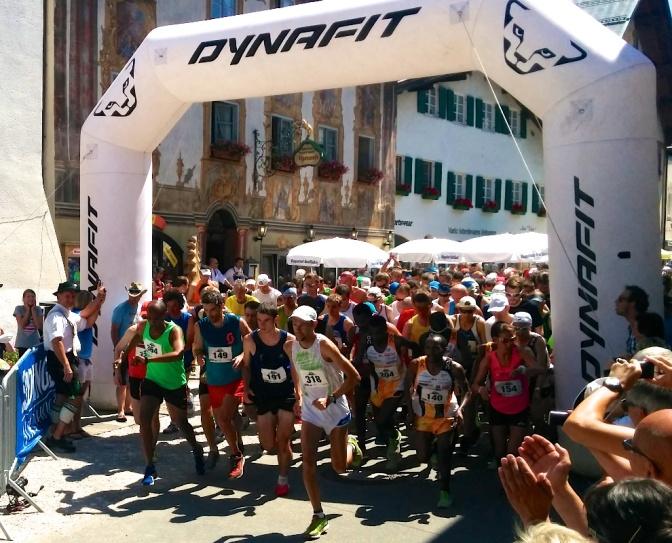 343 Bergläufer starten um 14 Uhr in Mittenwald
