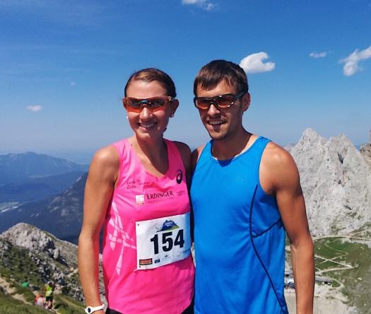 Sabine Reiner (1. Frau) und ihr Freund Stefan Hubert