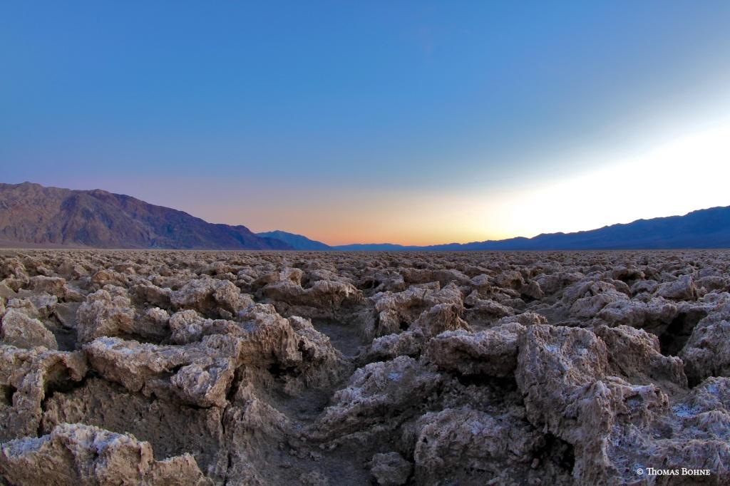 Death Valley - Devils Golf Court
