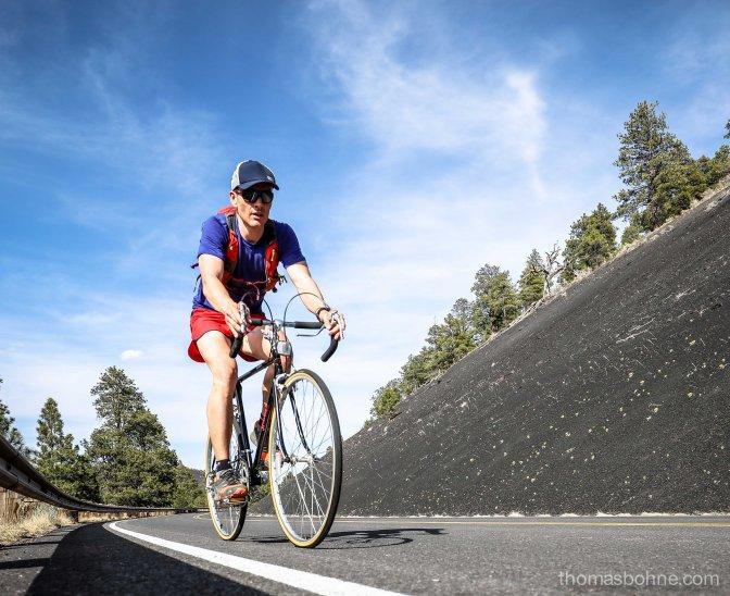 Radtour durch die Vulkanlandschaft
